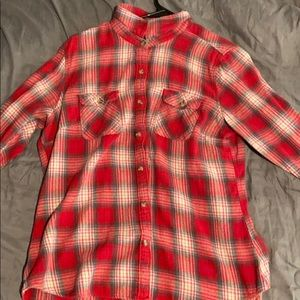Red and white flannel